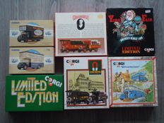Corgi - Scale 1/50 - Lot with Diverse Sets & Trucks: Bedford & AEC