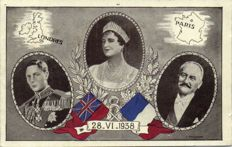 Royalty England 66 x-including: Queen Elizabeth, King Edward and George and others-period:1905/1960