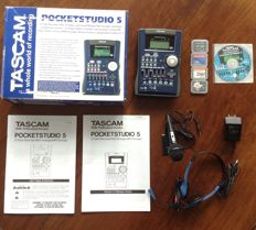 TASCAM Pocketstudio 5 - Compact 4-track Multitrack Recorder with USB