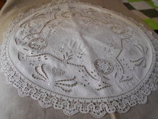 Old cutwork centrepiece, early 1900s
