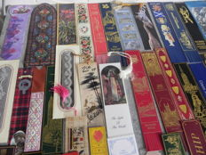 Book objects; Lot with 110 bookmarks - 20th / 21st century