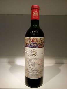 1968 Chateau Mouton Rothschild, Pauillac 2eme Grand Cru Classé - 1 bottle