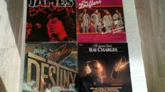 A great lot of soul, funk and disco albums from the 70's and 80's. 15lp's, 3 doublealbums and 1 maxi-single by: James Brown, Commodores, Earth, Wind & Fire, the Driften, Donna Summer and many others.