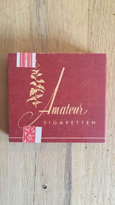 Lot of 10 packs of Amateur cigarettes WWII