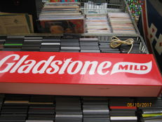 2 beautiful illuminated advertising signs for cigarettes GLADSTONE MILD LIGHT BOX, and a small Marlboro sales light box