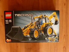 Technic - 8069 - Backhoe Loader