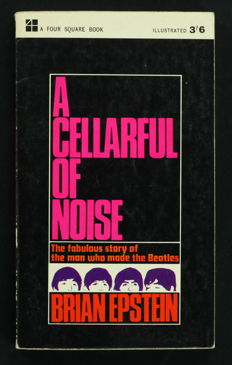 Lot of 2 Rare 1964 Beatles Books: A Cellarful of Noise by Brian Epstein (1964 U.K. 1st Edition Paperback) + Love Me Do - The Beatles Progress by Michael Braun (U.K 1964)
