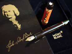 "Montblanc ""Johann Sebastian Bach"" fountain pen - 18k solid gold nib - Complete set - New and unused"