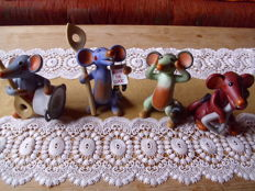 "Rosina Wachtmeister - exclusive for Goebel - ""music rats"" - signed"