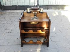 Bar cabinet with phone - 20th century