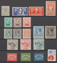 The Netherlands 1922/1931 - Selection including Airmail