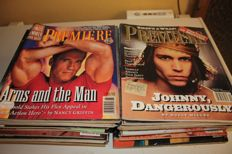 "Collection of  45 ""Premiere"" the movie magazine, American Edition 1990-2001"