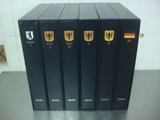 Accessories - 6 Davo LX albums Federal Republic of Germany, Germany and Berlin