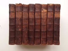 [Joseph Addison & Richard Steele] - The Spectator - 8 volumes - 1744