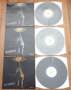 AC/DC- Live Nürnberg 2001 Overdose Volume 1, 2, 3/ Very limited 3lp set (125 copies only!) on grey marbled wax/ NEAR MINT