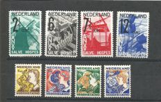 The Netherlands 1932 – Complete year collection – NVPH 244/247 + 248/251