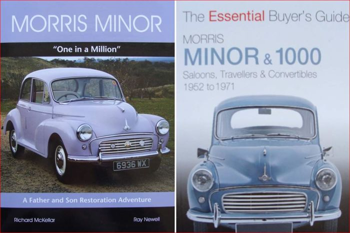 2 Books on Morris Minor