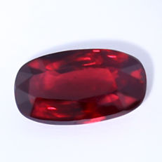 Ruby , Royal Red - 2.28 ct