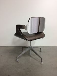 Hadi Teherani for Interstuhl - desk chair Silver
