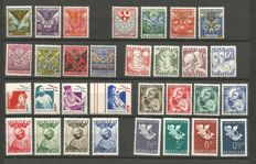 The Netherlands 1925/1936 - (child) relief stamps, eight complete series