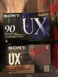 Sony tapes new & sealed - vintage
