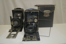 "Exclusive !! Rarely!!! ""Photocor №1"" -2 pieces. (Early) 1930s.  GOMZ ( Leningrad)"
