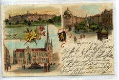 Belgium Lithography cards period: 1896-1906 50 x