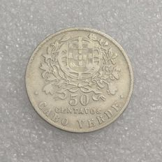 Portugal, Colony of Cabo Verde – 50 Centavos 1930 – alpaca