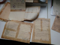 Passes documents family Forisch 1914-1946