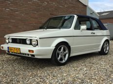 Volkswagen - golf 1 cabrio - 1.8 injection karmann - 1988