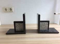 Book objects; Set of Art Deco bookends - 2nd half 20th century