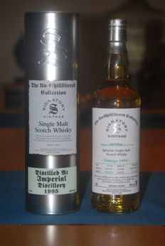 Imperial 18 years old 1995 Signatory Vintage casks #50282-50283