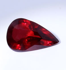 Ruby , Pigeon's Blood Red - 2.01 ct