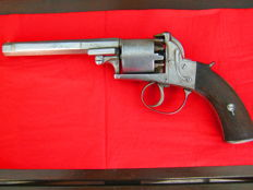 Stunning Webley Bentley 45 cal. double action percussion revolver