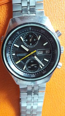 Citizen ,automatic,double chronograph ,flyback ,67-9119 model Men - 1970-1979