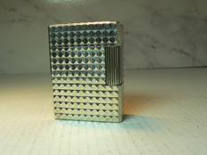 Silver plated Dupont lighter;