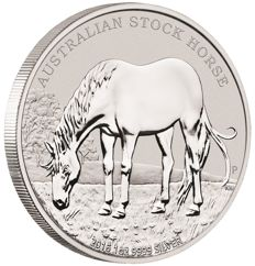 Australia - 1 dollar - Perth Mint - stock horse 2016 - edition of only 10,000 pieces