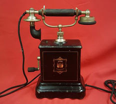 Jydsk - Metal Antique Telephone - Denmark, 1900-1930