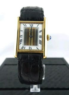 Cartier Tank Paris tricolour gold  Ref. 590005 - Ladies
