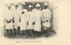 Djibouti AFRICA 52 x-various Types, street scenes and points of interest-period:1900/1930
