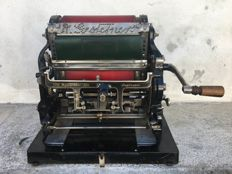 "GESTETNER'S DUPLICATOR ""SIX"" - United Kingdom, ca. 1913"