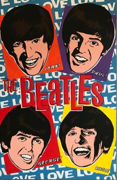 Gerke Rienks - The Beatles, Love me do