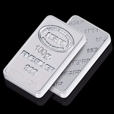 100g Fine Silver Bullion Bar ,*** NO RESERVE PRICES ***