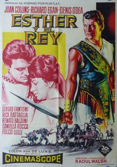 Soligo - Esther y el Rey (Esther and the King; Joan Collins, Richard Egan) - 1960