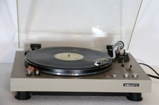 Rock-solid SCOTT RECORD PLAYER PS-77XV WITH BRAND NEW STANTON CARTRIDGE AND DIRECT DRIVE