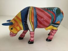 Cow Parade - Boca Bovine - medium - ceramic - retired !