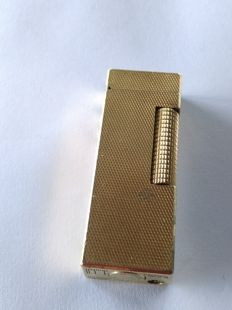 Gold plated Duhill lighter / 1970 made in Switzerland