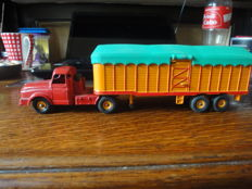 Dinky Supertoys-France - Scale1/48 - Tractor Willème with covered Semi-trailer No.36B