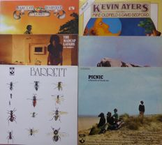 "Rare copy of Harvest sampler ""Picnic, A Breath of Fresh Air"", double album plus Pink Floyd Atom Heart Mother, Kevin Ayers (2), Syd Barrett (2) and Barclay James Harvest"