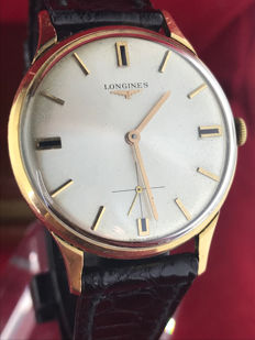 Longines 30L 18 kt gold men's watch, 1960s
